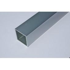 Anodowany profil 40x40x2 mm/2000 mm/natural