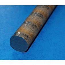 Pręt brązowy fi 15 mm. B101. Dłg. 0,3 mb.